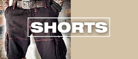 Shorts und Badehosen