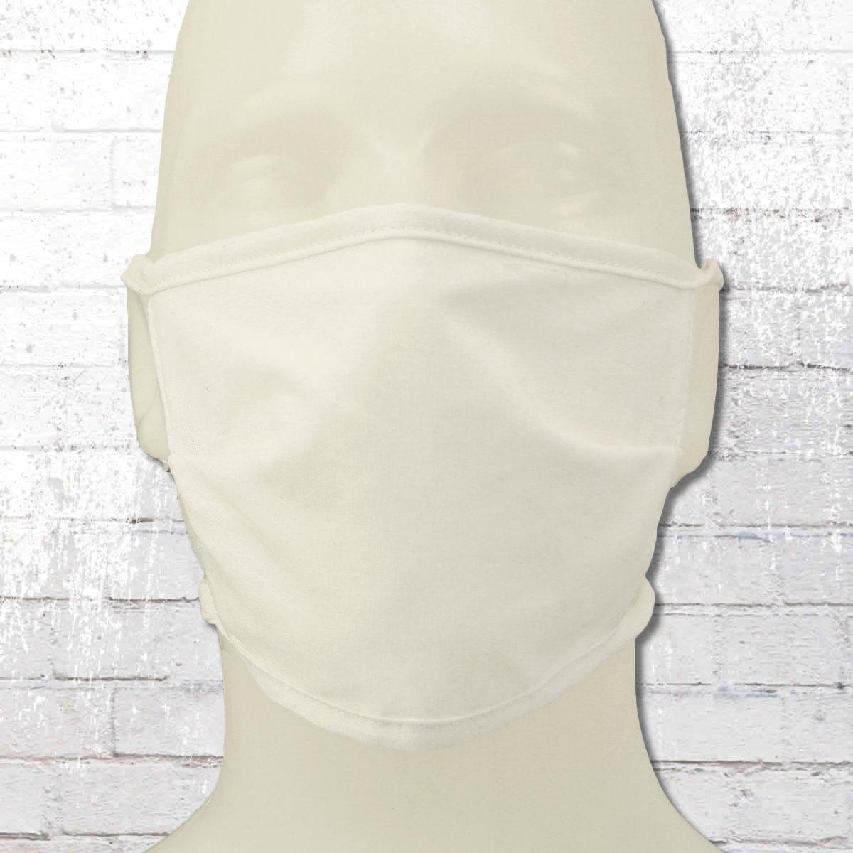 10er Pack Allbag Mund-Nasen-Maske mit Vliess Einlage weiss
