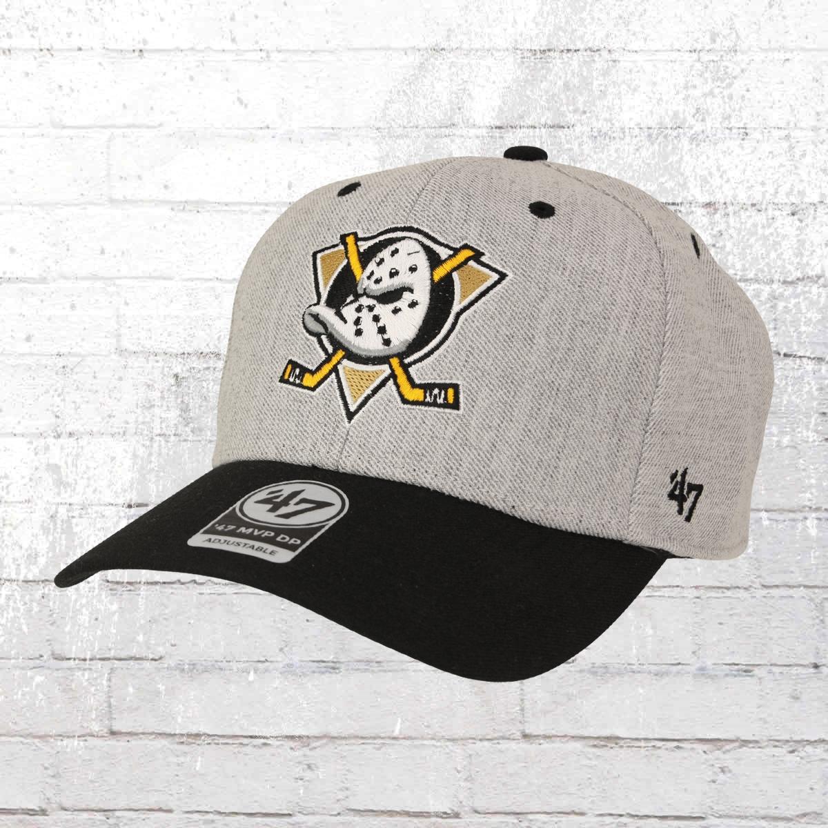 47 Brand Snapback Cap Anaheim Ducks grau