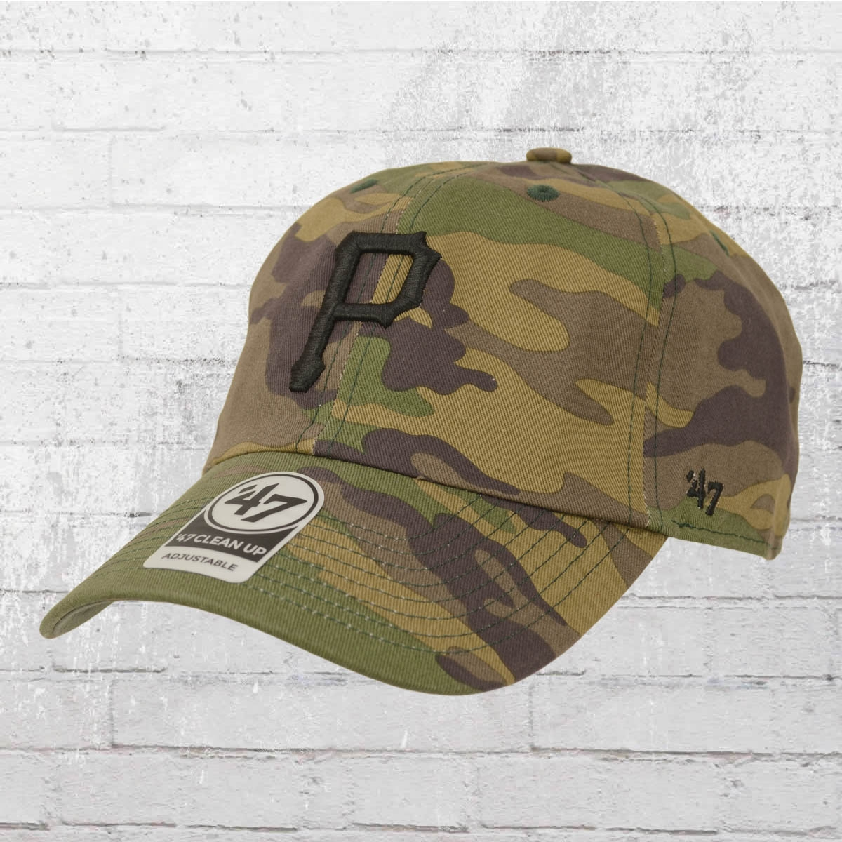 47 Brands Clean Up Pittsburgh Pirates MLB Cap camouflage