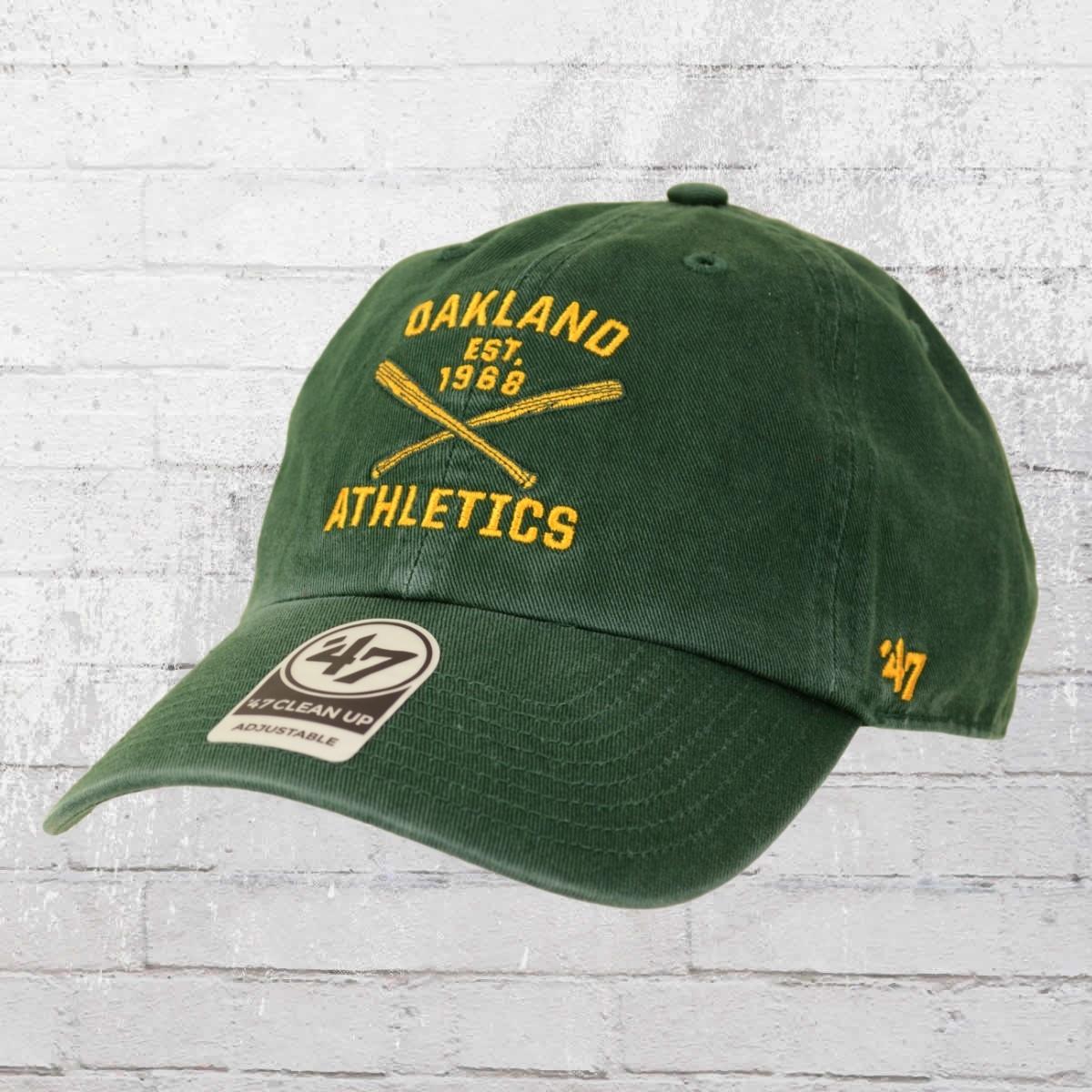 47 Brands Clean Up Cap Oakland Athletics vintage grün