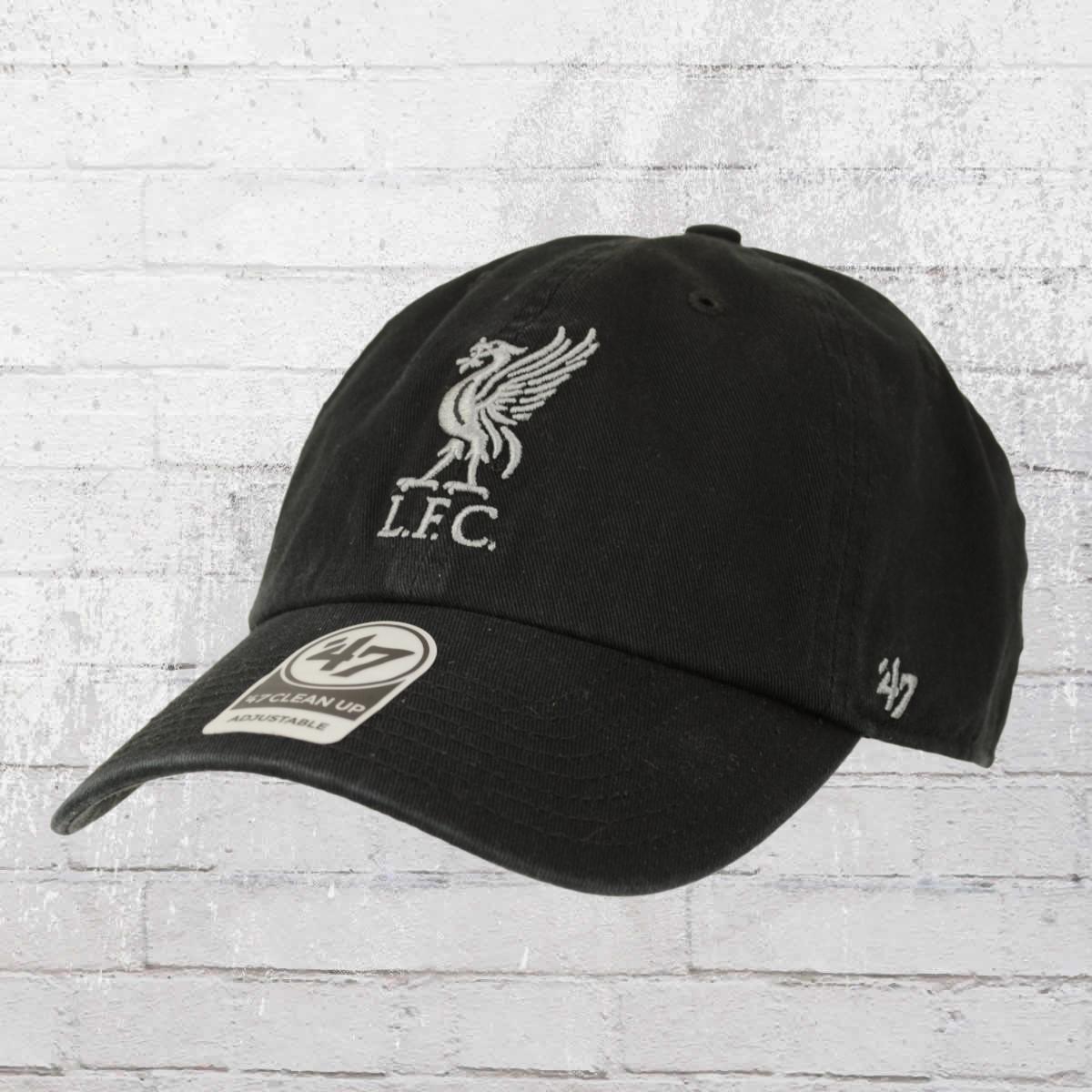 47 Brands Fussball Cap Liverpool FC Mütze schwarz