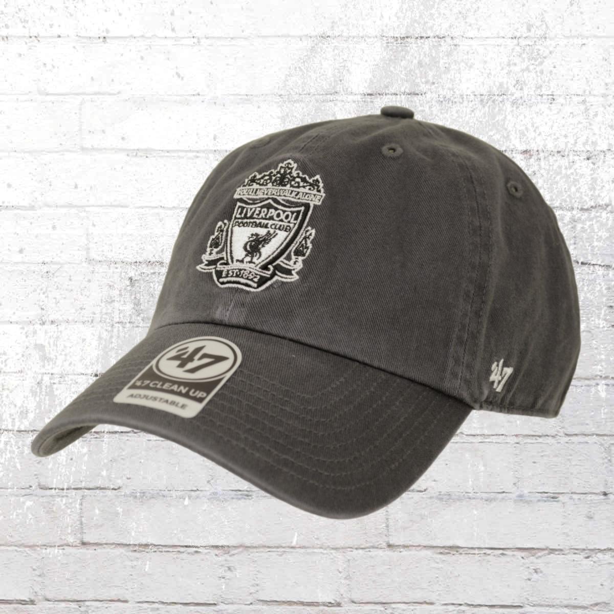 47 Brands Fussball Mütze Liverpool FC Cap vintage grau