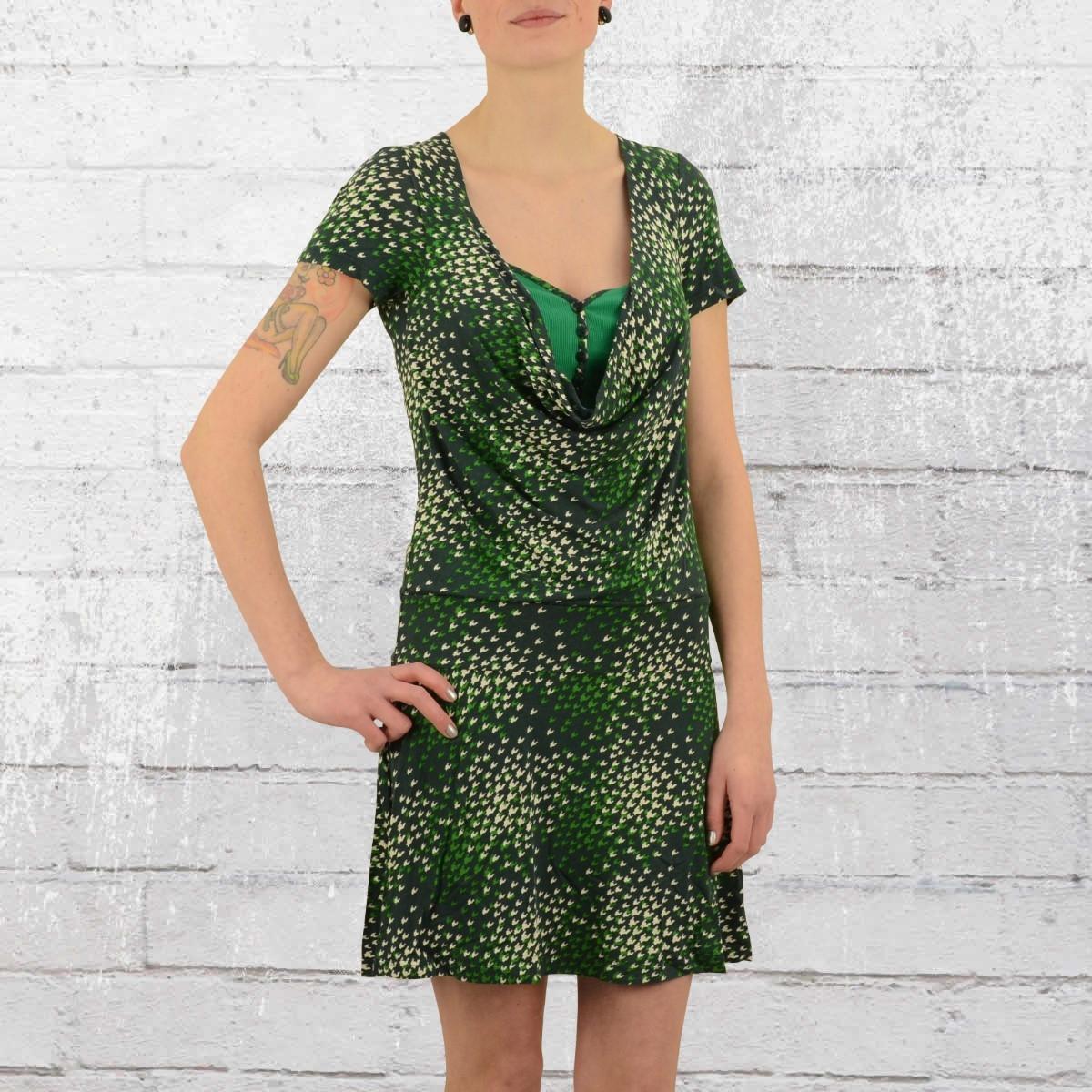 ATO Berlin Mini Kleid Frauen Nicki grün