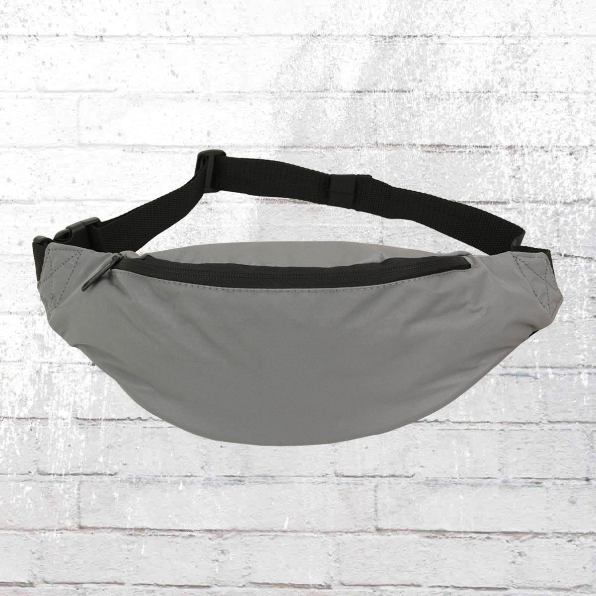 Bag Base Gürteltasche Reflective Belt Bag silber