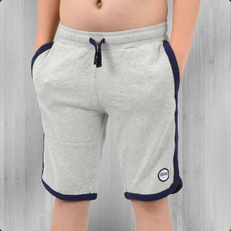Billabong Kinder Shorts Ballini kurze Jogginghose grau melange