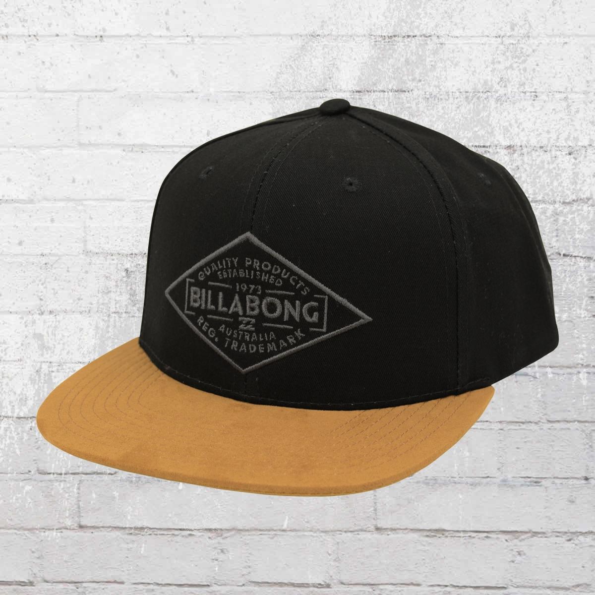 Billabong Cap Sama Snapback Kappe schwarz braun