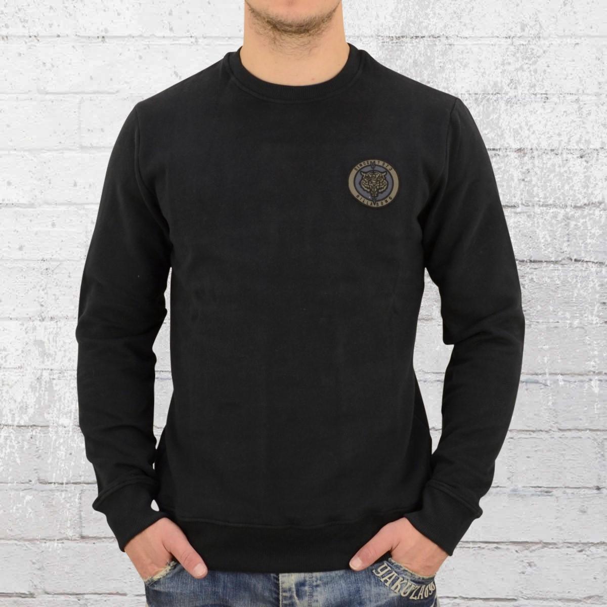 Billabong Herren Sweater Patrol Crew phantom schwarz