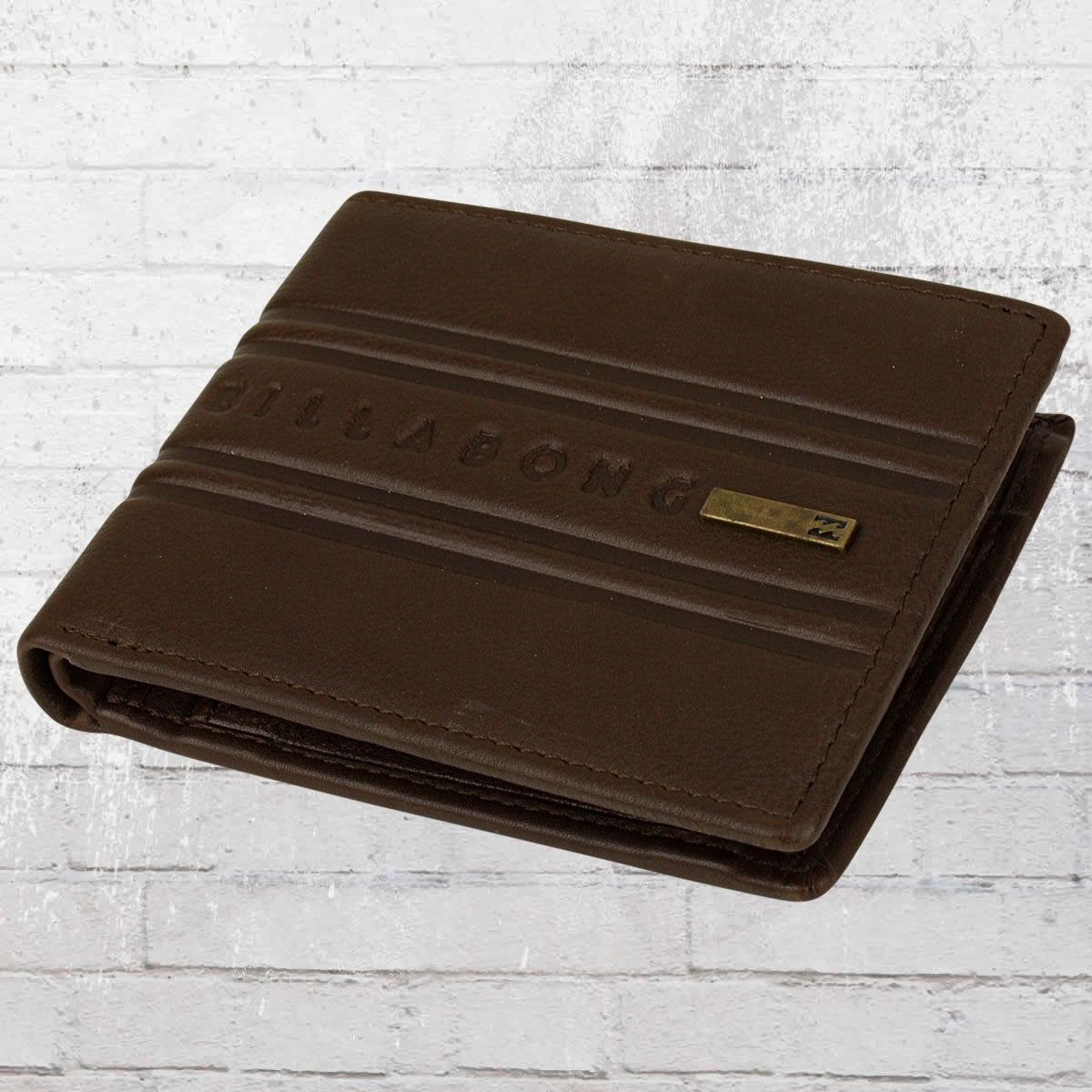 Billabong Leder Portemonnaie Phoenix Wallet braun