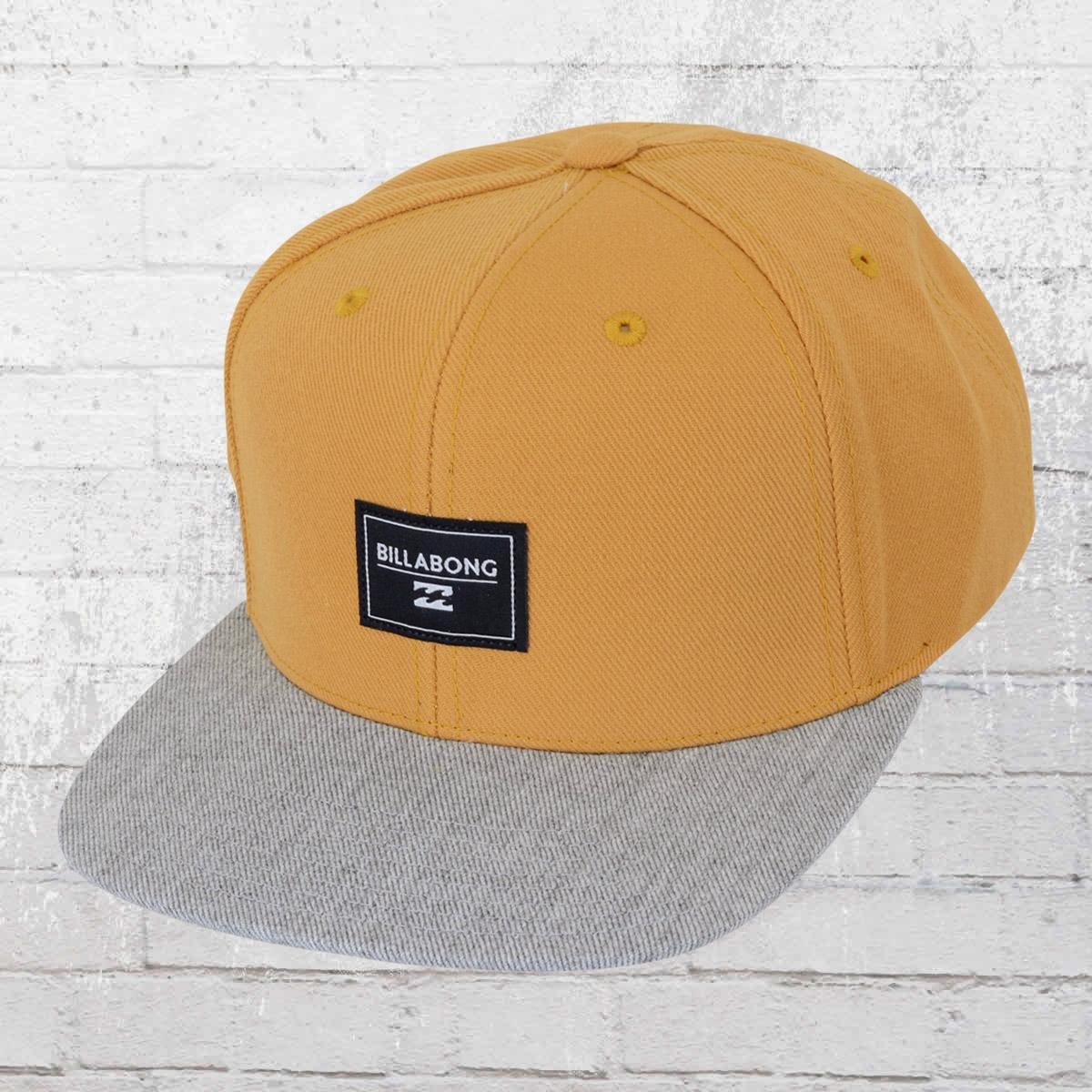 Order now | Billabong Primary Cap Snapback yellow beige