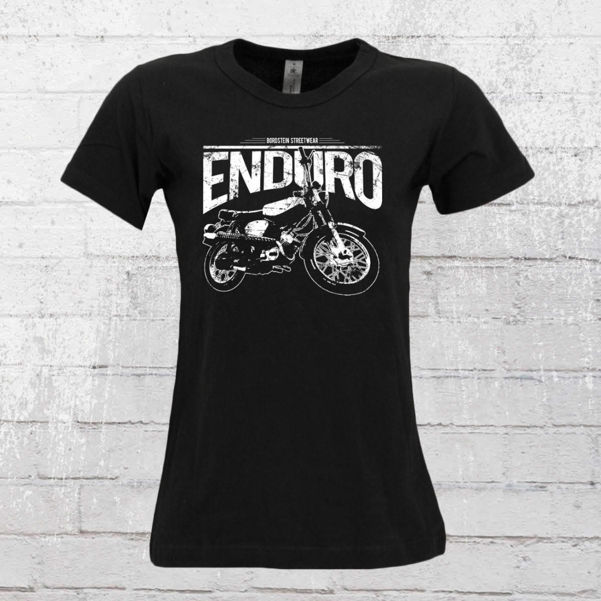 Bordstein Frauen T-Shirt S51 Enduro schwarz