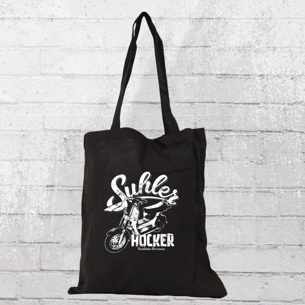 Bordstein Streetwear Suhler Hocker SR50 Stoff Beutel schwarz