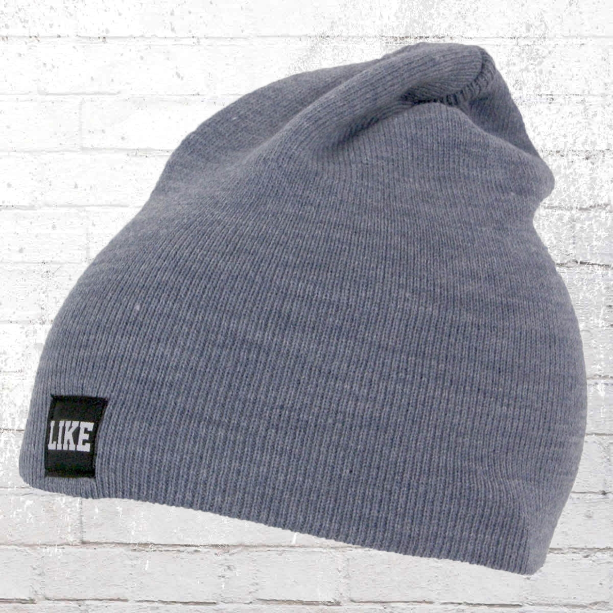 C Like Zebra Winter Mütze Like Beanie blau