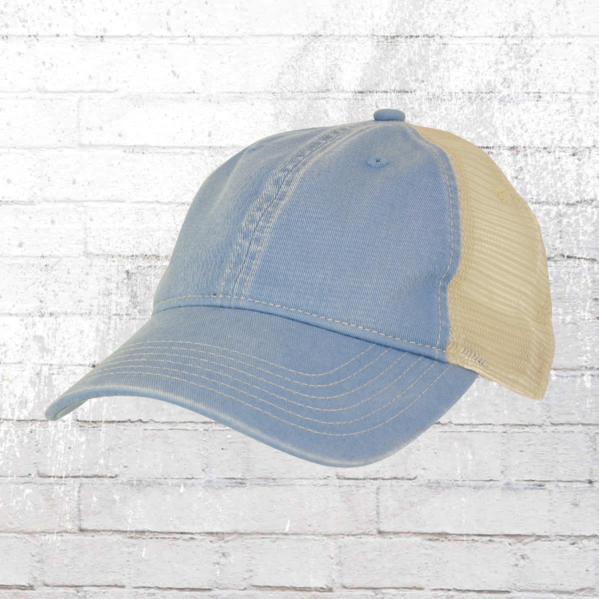 Comfort Colors Trucker Cap Tea Dyed blau