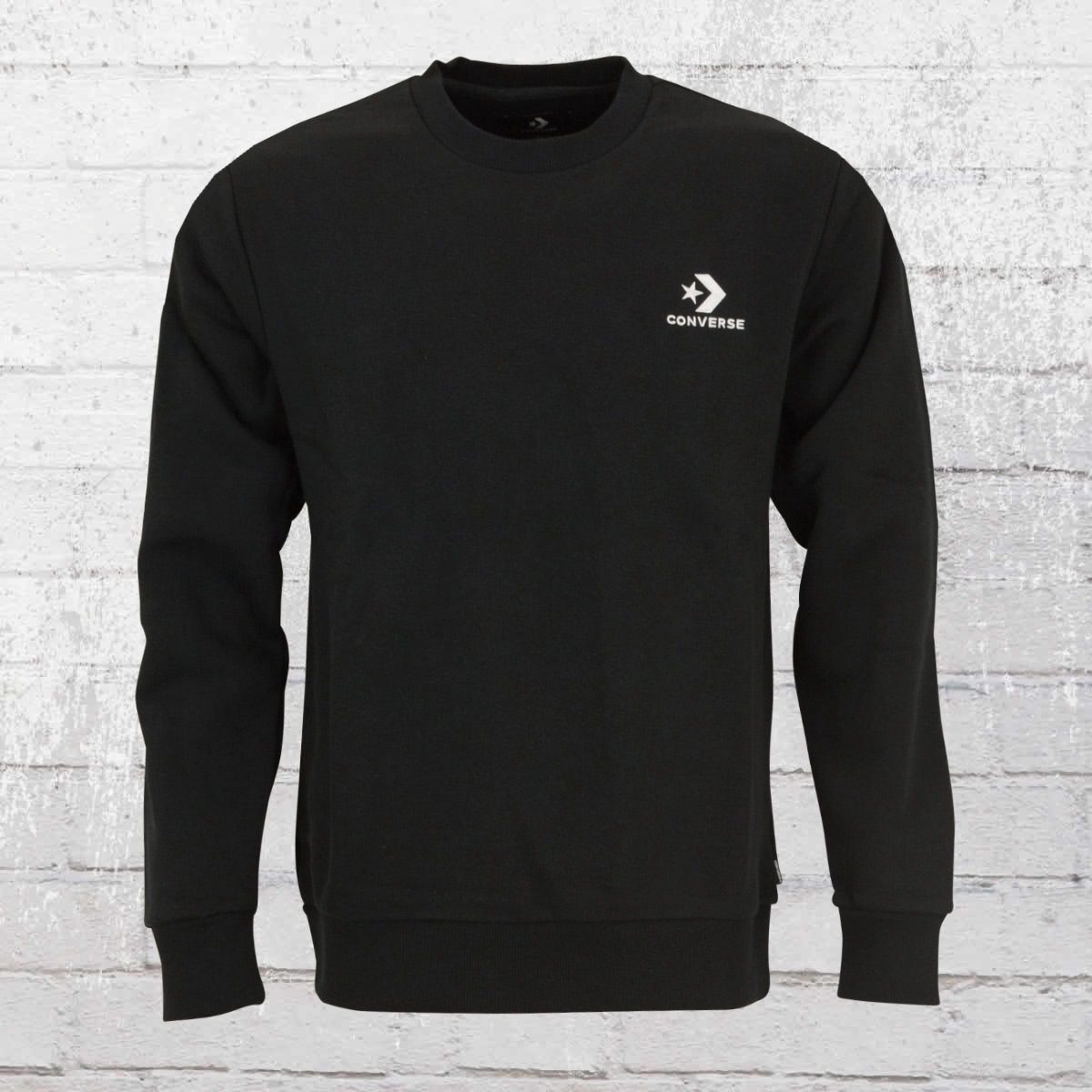Converse Herren Sweater Star Chevron EMB schwarz
