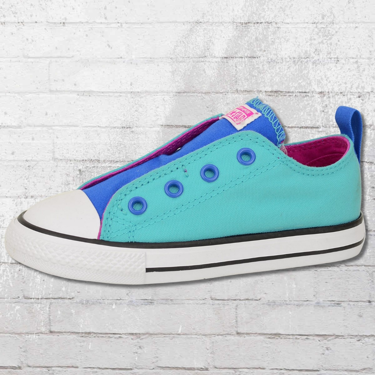 Converse Simple Slip Kinder Schuhe blau türkis