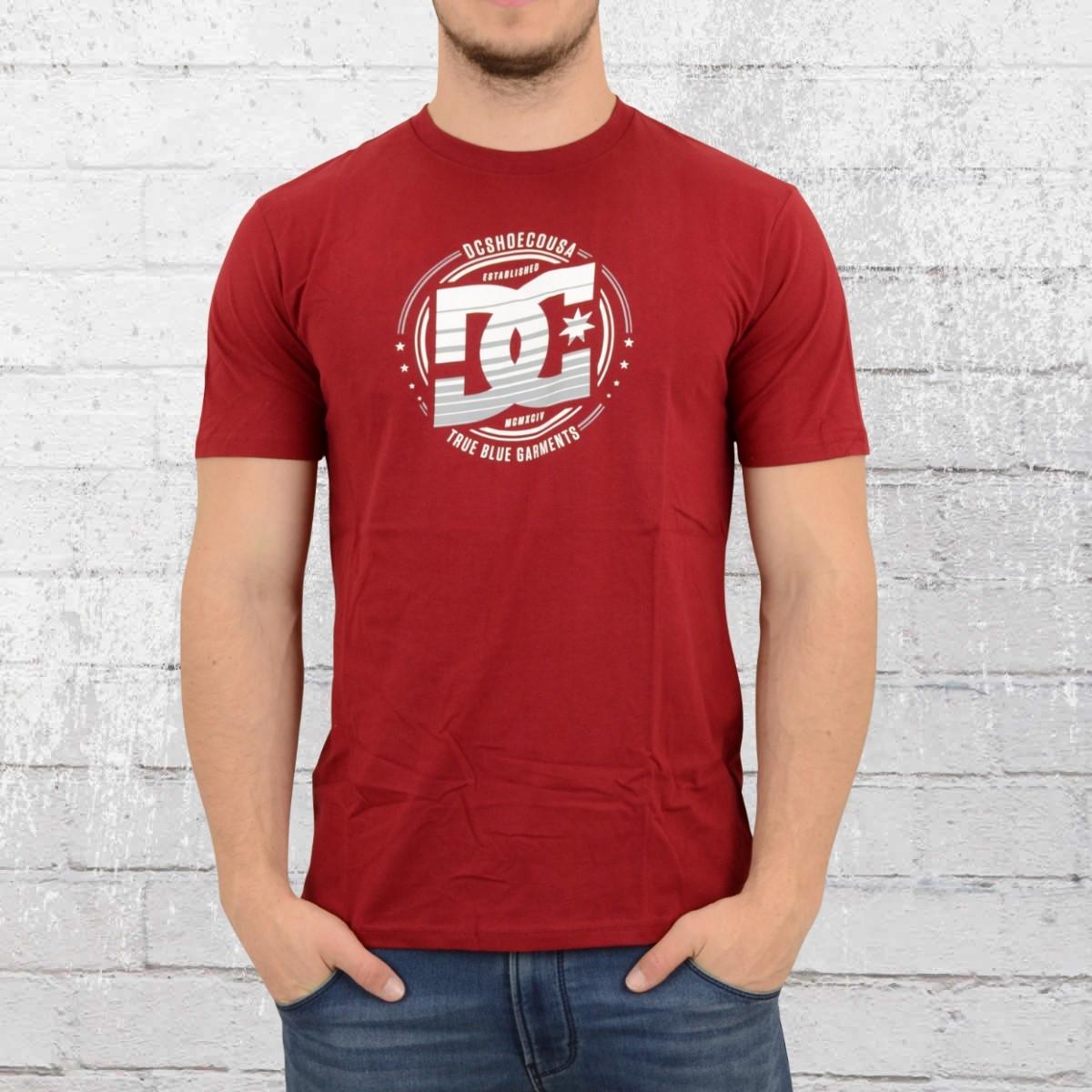DC Shoes Herren T-Shirt Heraldry rot