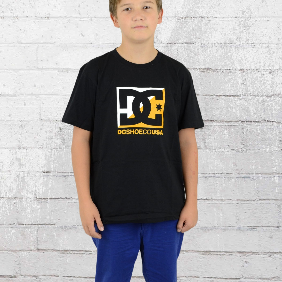 DC Shoes Kinder Crosscloud Boys T-Shirt schwarz