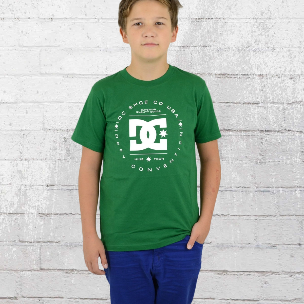 DC Shoes Kinder T-Shirt Rebuilt grün