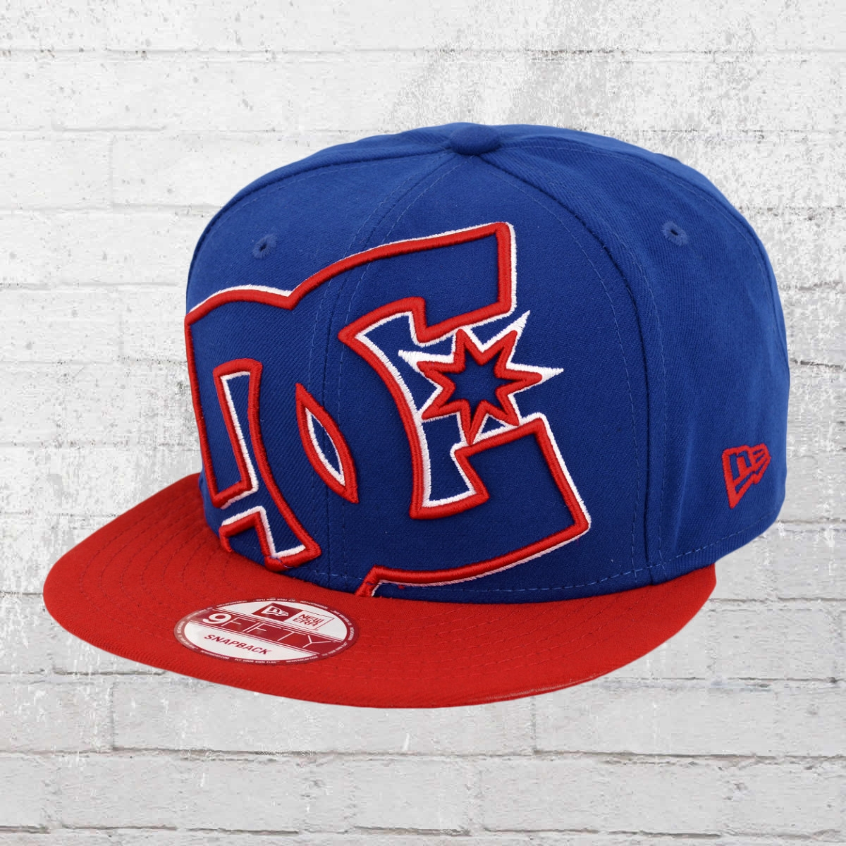 7177d0ae Order now | DC Shoes New Era Snapback Cap Double Up mazarine blue