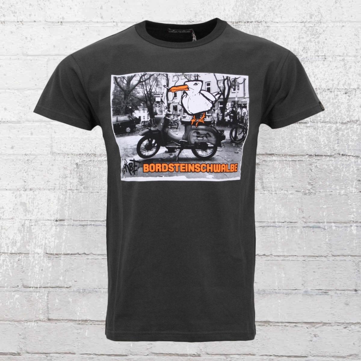 Derbe Hamburg Herren T-Shirt Bordsteinschwalbe grau