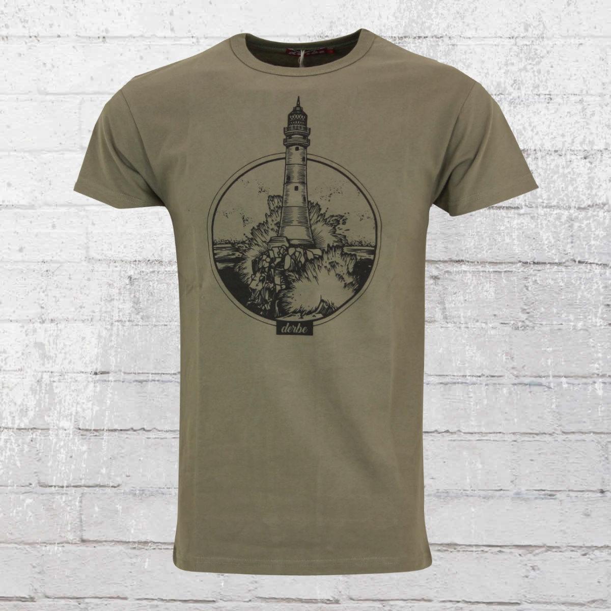 Derbe Hamburg Männer T-Shirt Boys oliv