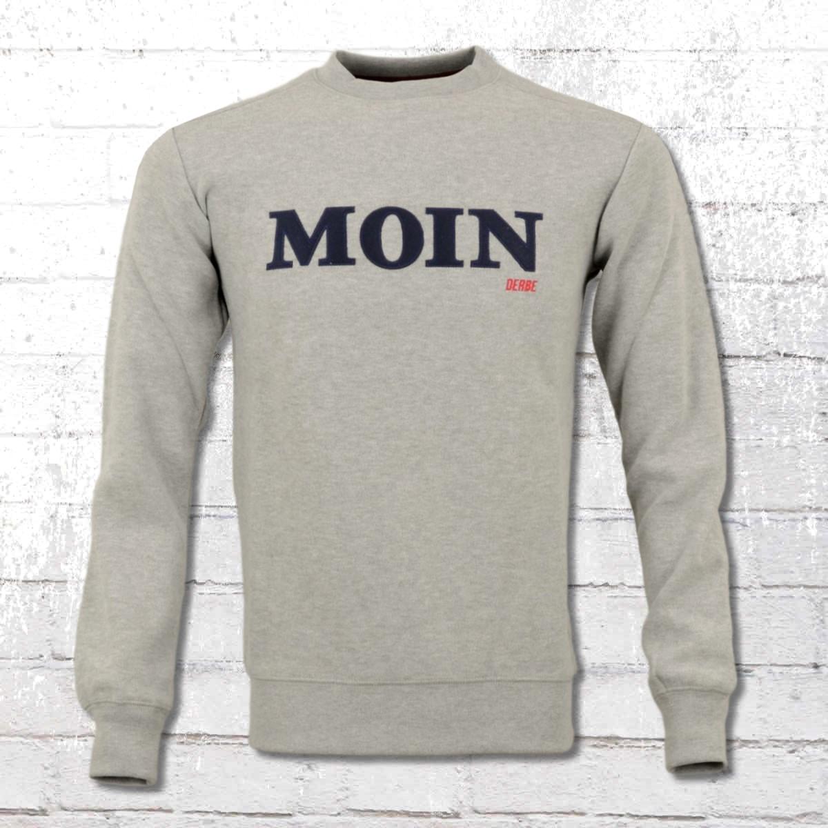 Derbe Hamburg Moin Sweater Herren James grau