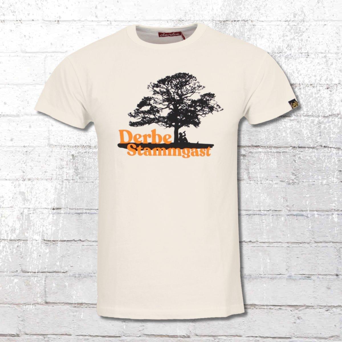 Derbe Hamburg T-Shirt Stammgast weiss