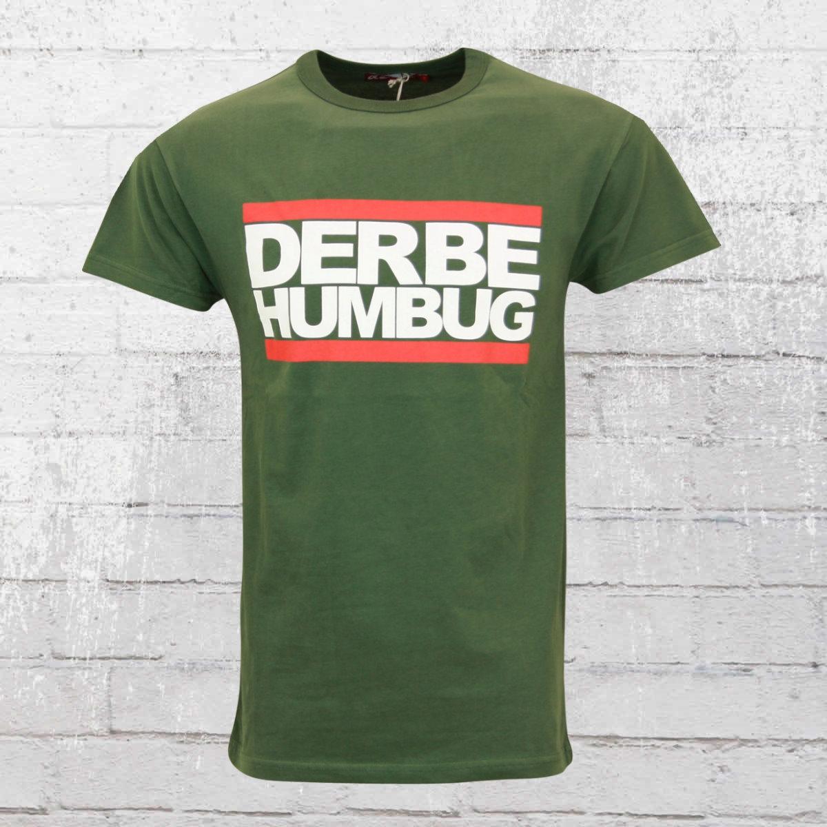 Derbe Hamburg T-Shirt Humbug Boys grün