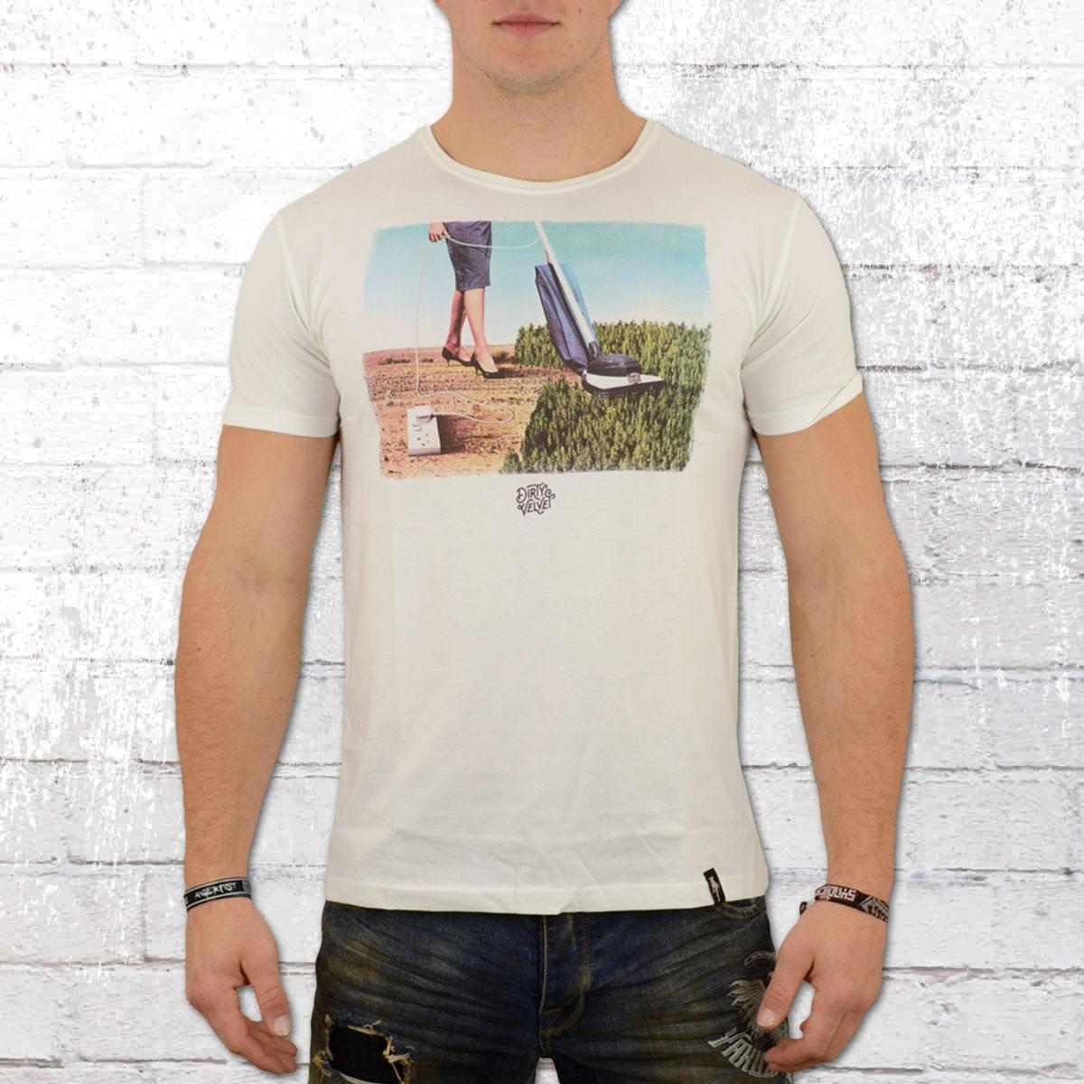 Dirty Velvet Herren T-Shirt Deforestation weiss