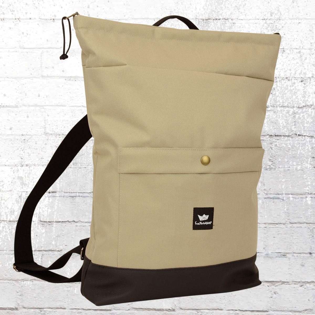 Freibeutler Rucksack Barrio Bag Laptop beige