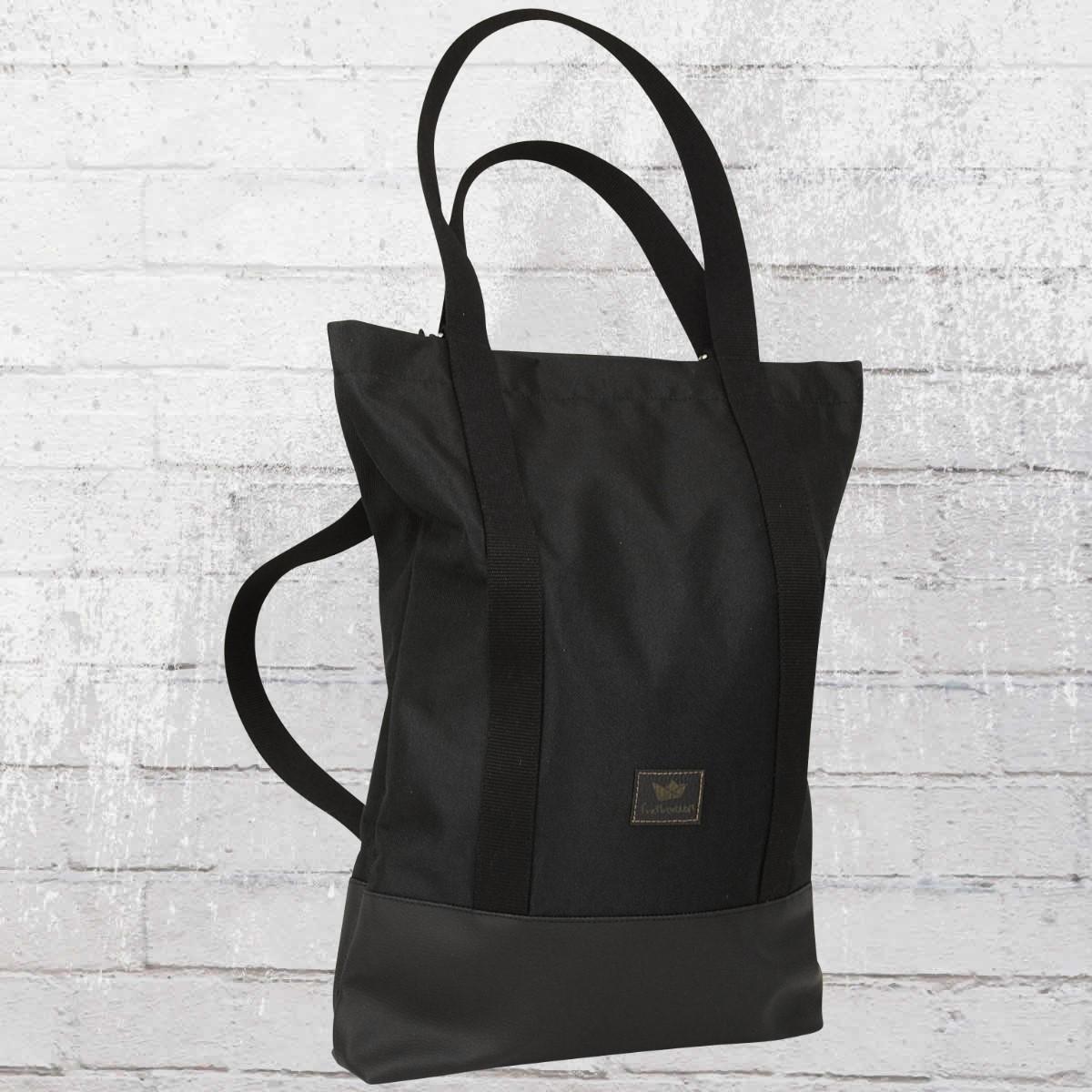 Freibeutler Tasche Shopper Pauli Bag Rucksack schwarz