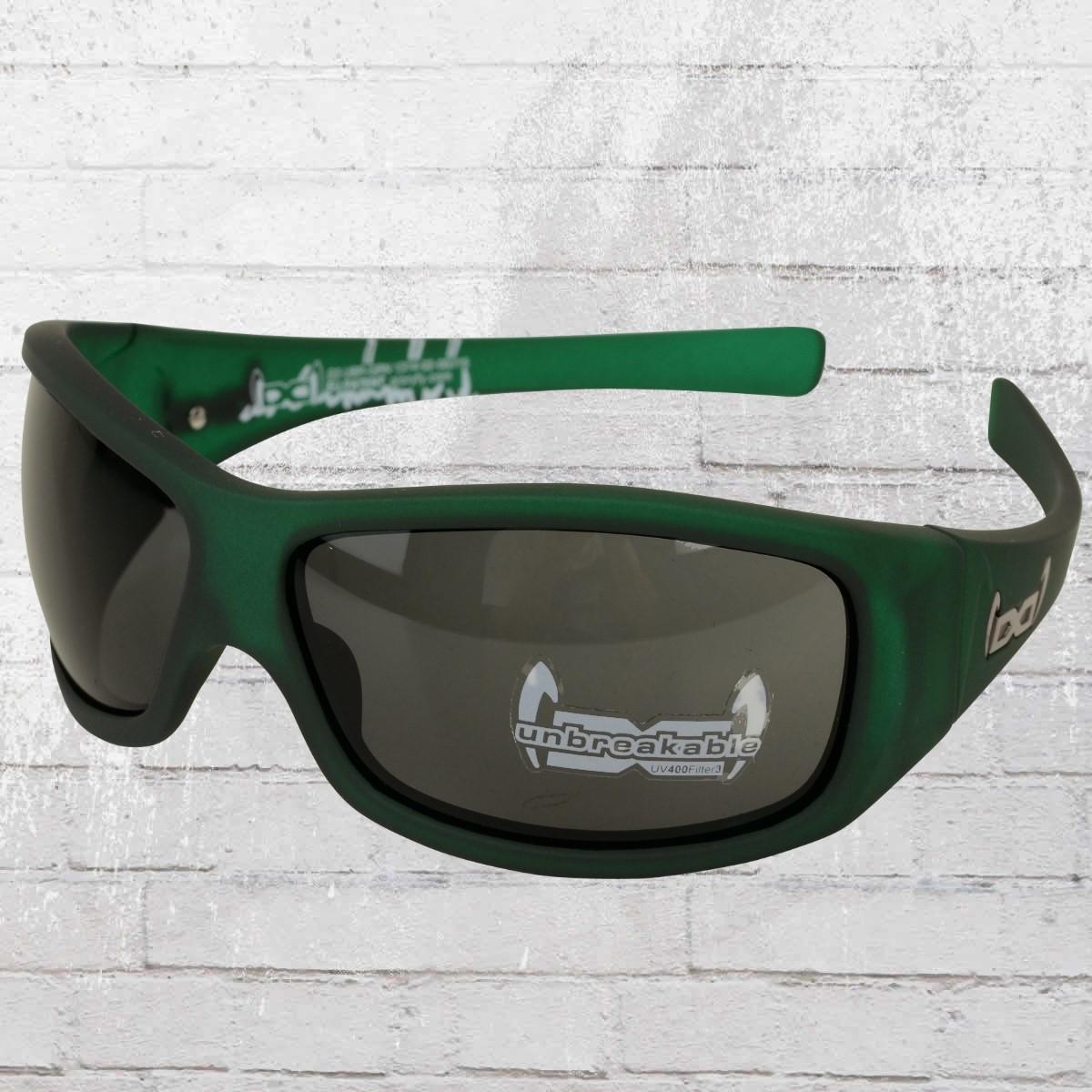 Gloryfy Sonnenbrille G3 Unbreakable dunkelgrün transparent