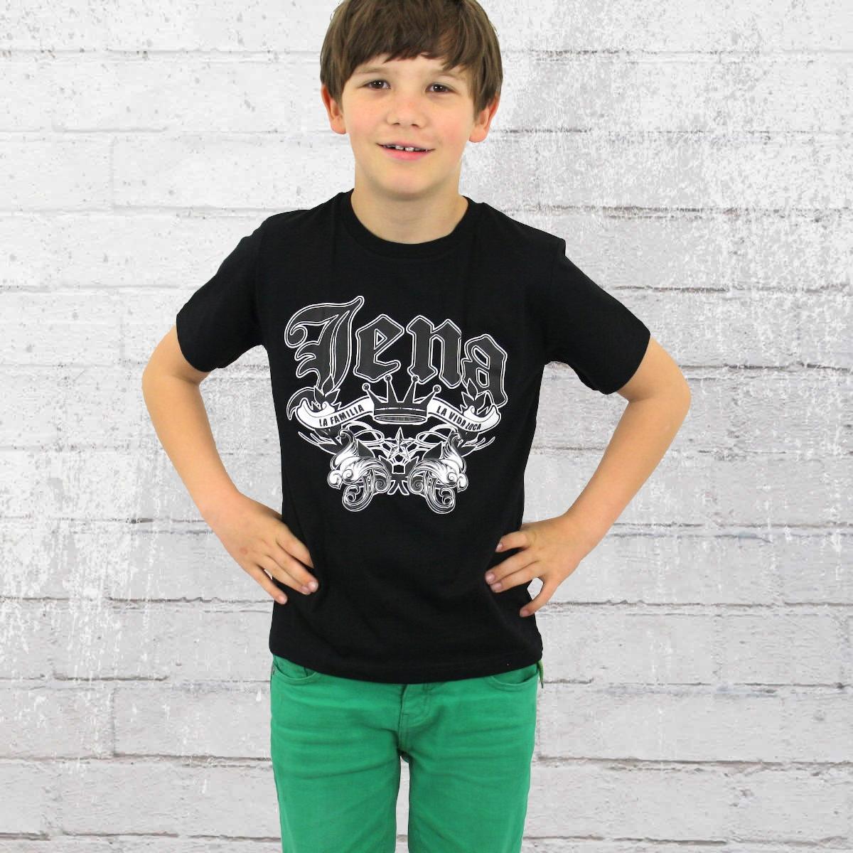 La Vida Loca Kinder T-Shirt Jena Kids schwarz