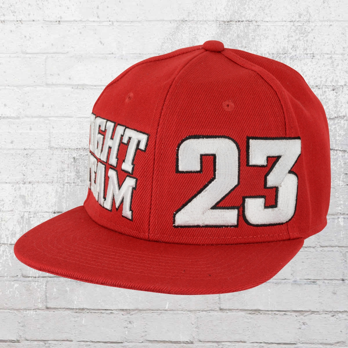 Label 23 Kappe Fight Team Snapback Cap rot