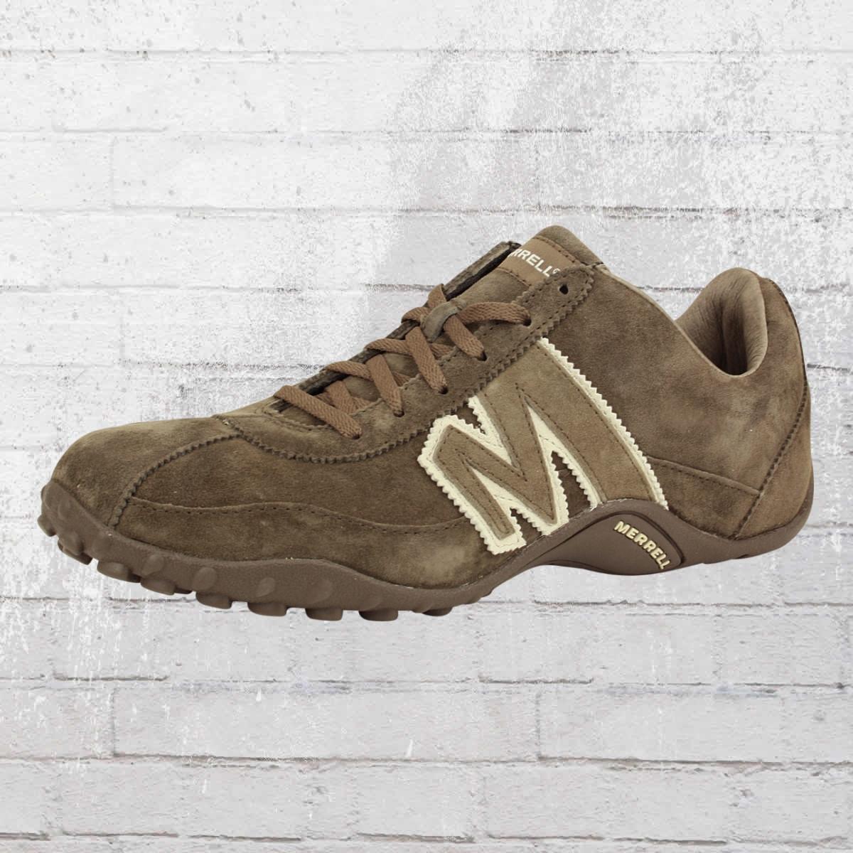 1961c10b5be9 Merrell Men Shoes Sprint Blast Leather grey white