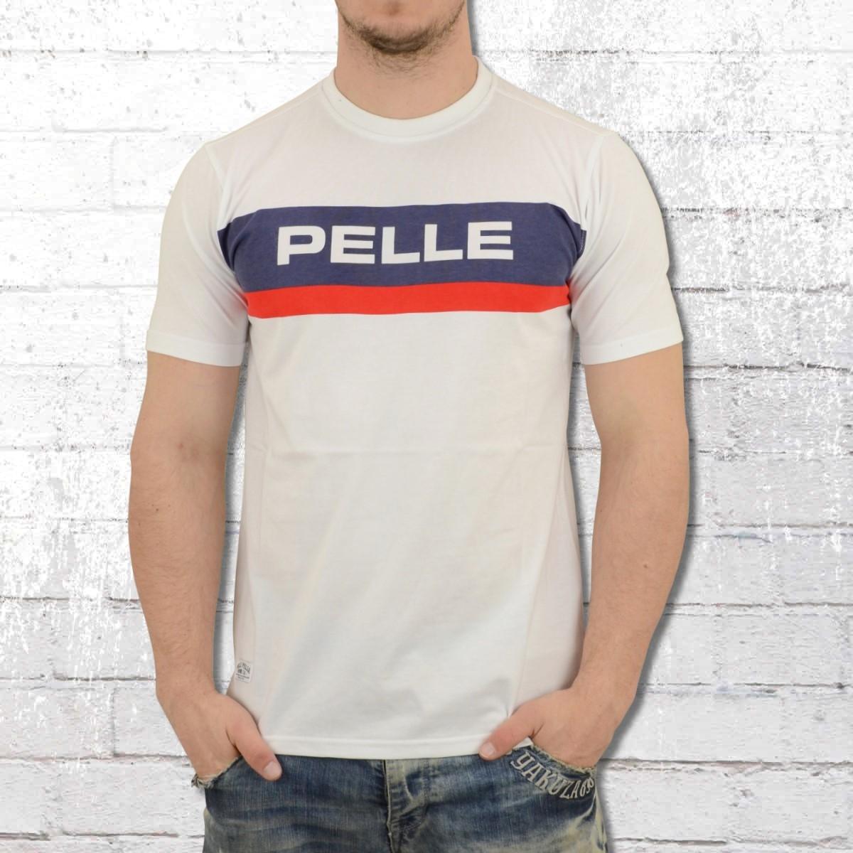 Pelle Pelle Herren T-Shirt All The Way Up weiss