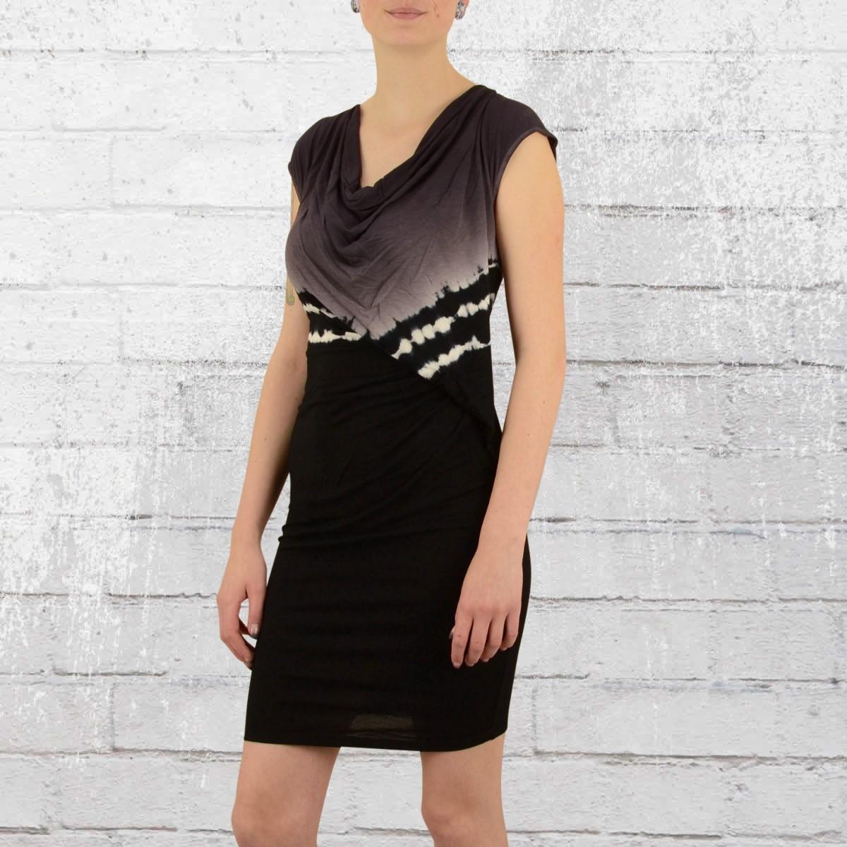 Religion Clothing Mini Kleid Iridescent schwarz