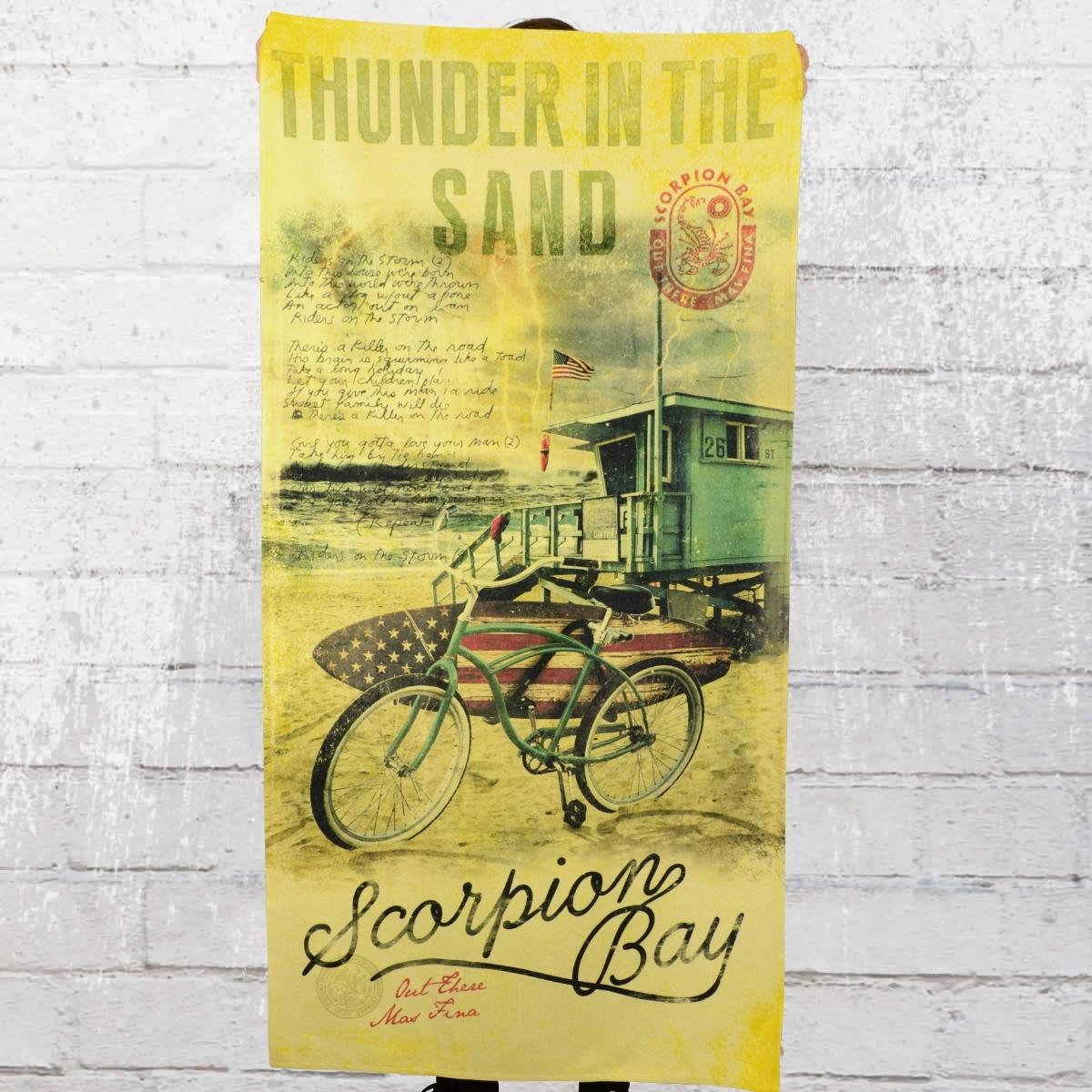 Scorpion Bay Plaza Strand Handtuch gelb