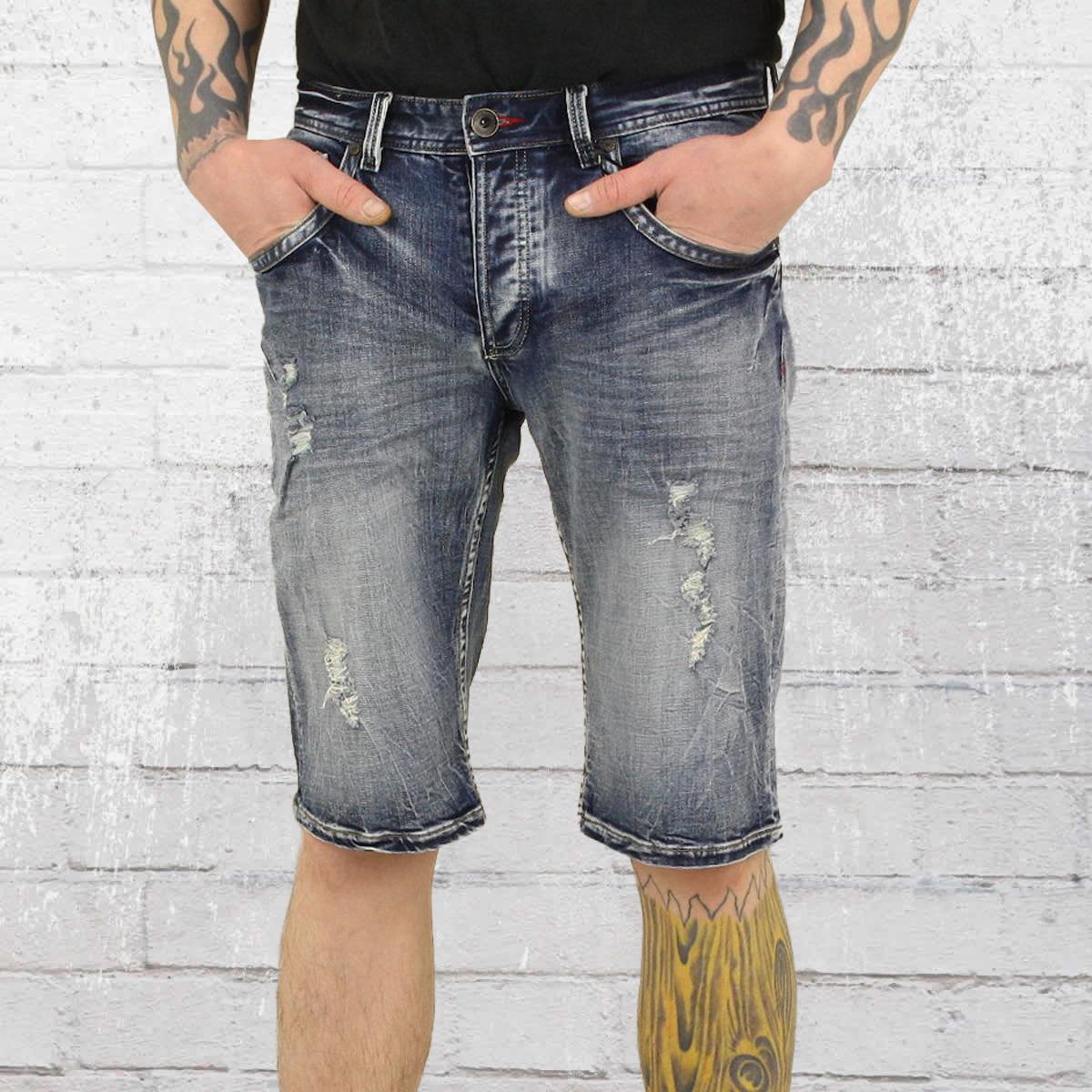 jetzt bestellen trueprodigy bent jeans short herren hellblau gewaschen krasse. Black Bedroom Furniture Sets. Home Design Ideas