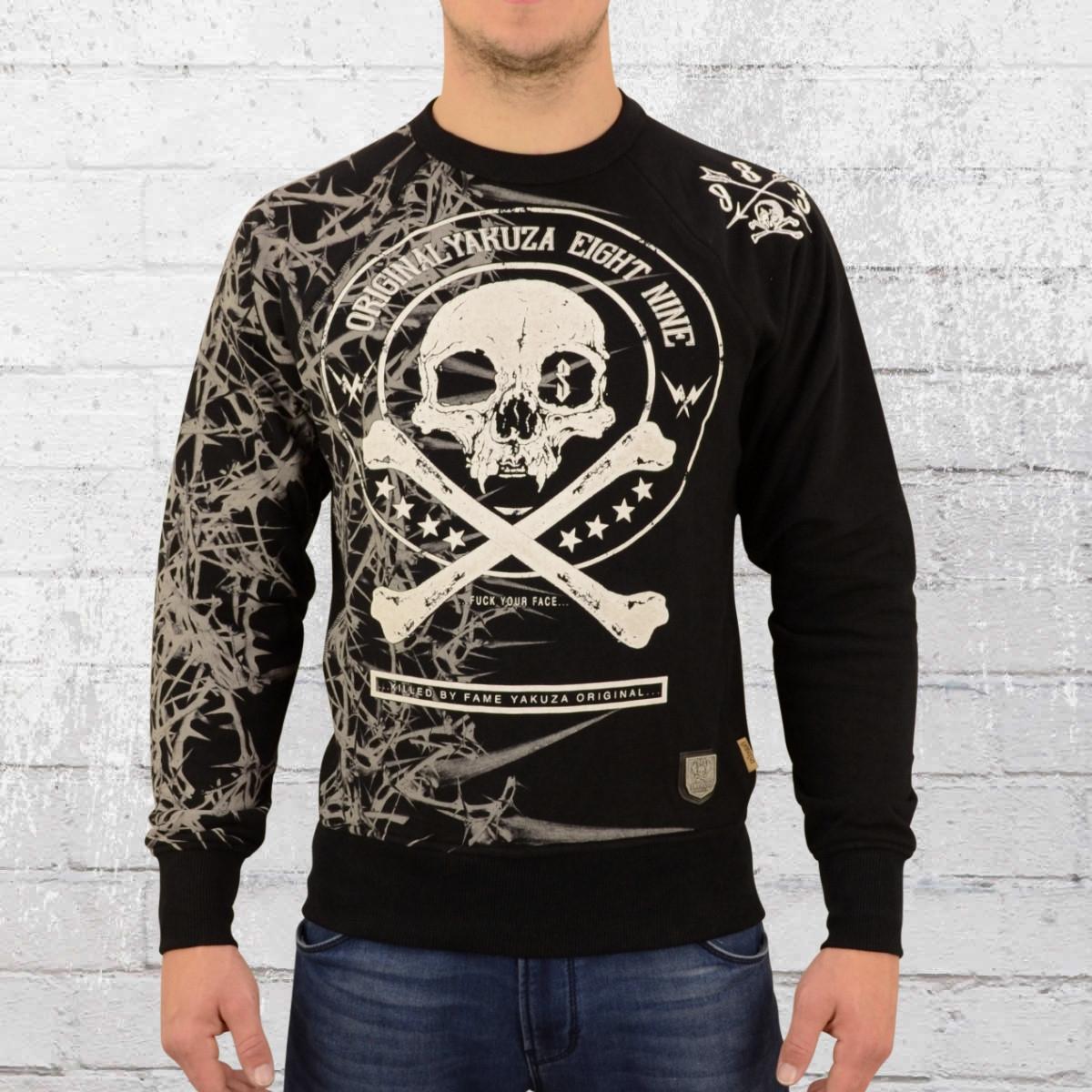 jetzt bestellen yakuza herren sweater thorns 11016. Black Bedroom Furniture Sets. Home Design Ideas
