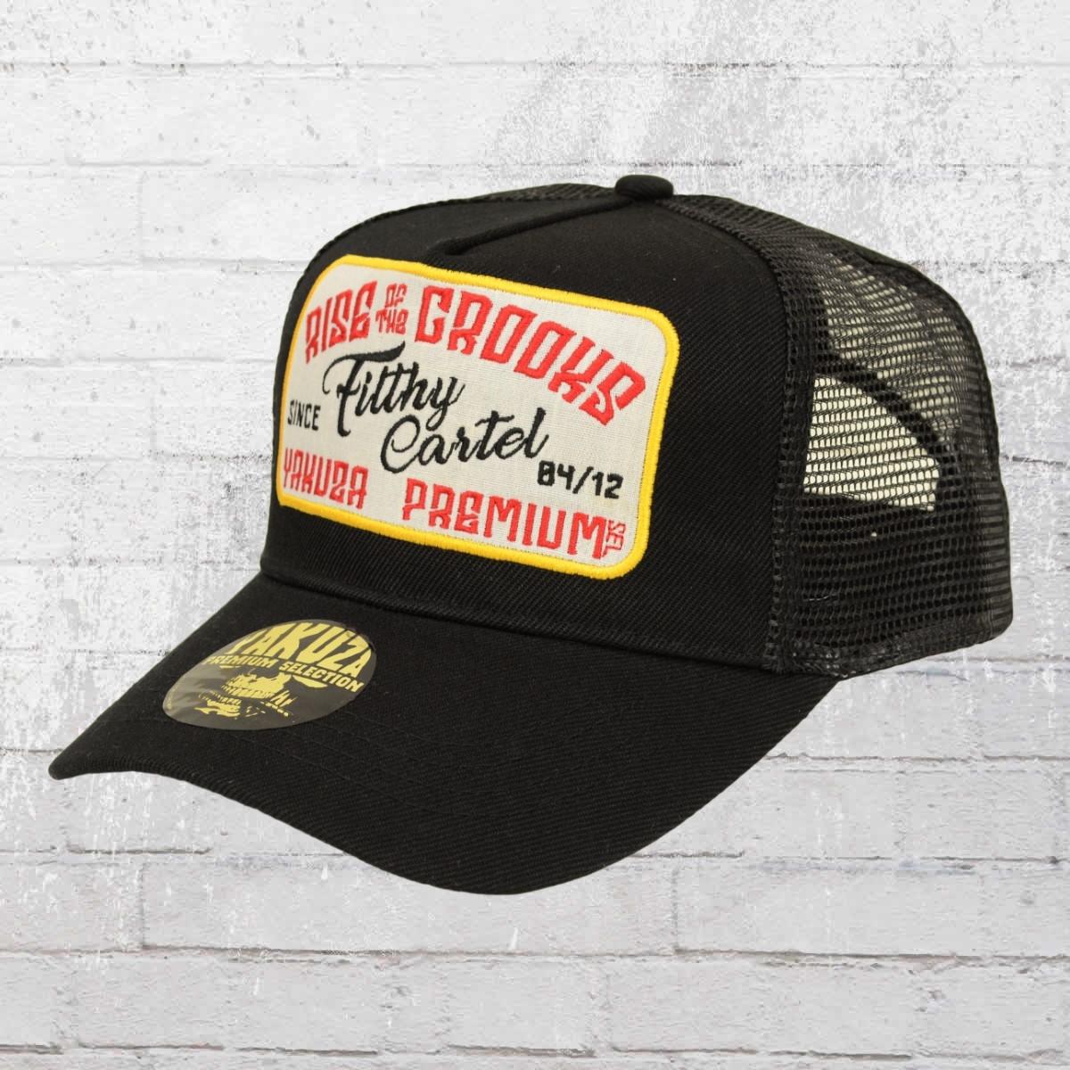 Yakuza Premium Trucker Cap Fifth Cartel schwarz