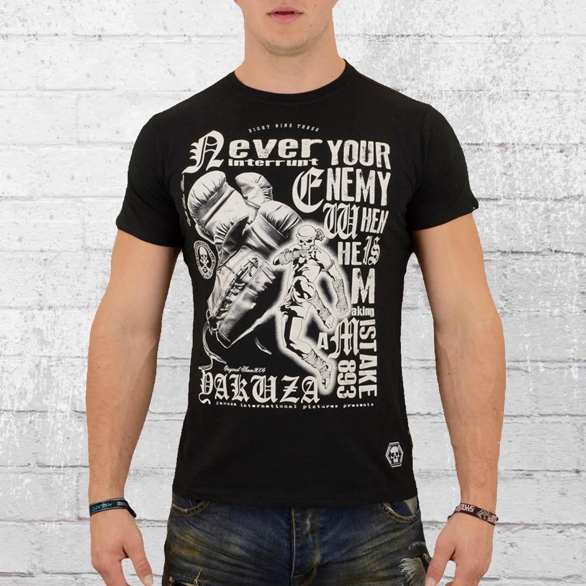 Yakuza T-Shirt Männer Mistake schwarz
