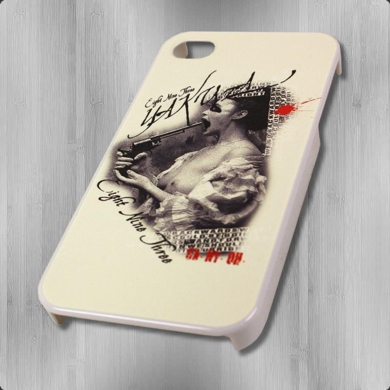 Yakuza Smartphone iPhone 4 S Hardshell Cover YCB 253 Lady White