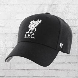 47 Brand Liverpool Football Club Cap Mütze schwarz weiss