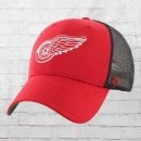 47 Brand Cap NHL Detroit Red Wings Trucker Hat rot schwarz
