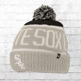 47 Brands Bommel Mütze Chicago White Sox Beanie grau