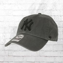 47 Brands Clean Up Baseball Cap NY Yankees grau