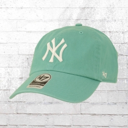 47 Brands Clean Up Baseball League Cap NY Yankees Kappe türkis
