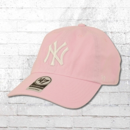 47 Brands Clean Up Baseball League Cap NY Yankees vintage rosa